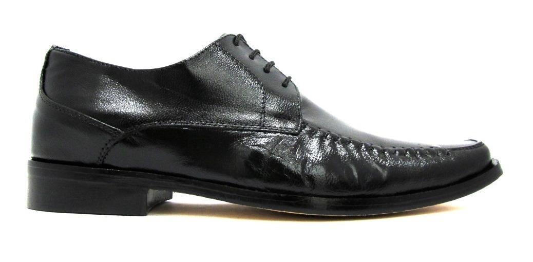 Zapato De Vestir Negro De Caballero 502