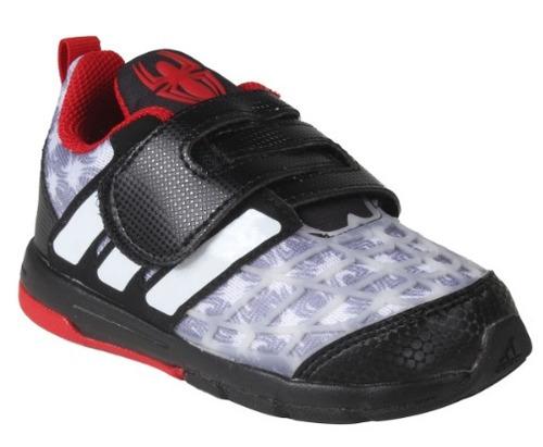 zapato deportivo adidas marvel spiderman  para niños