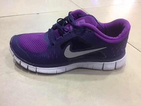 Zapatos Nike Free Dama Morados Zapatos Deportivos en