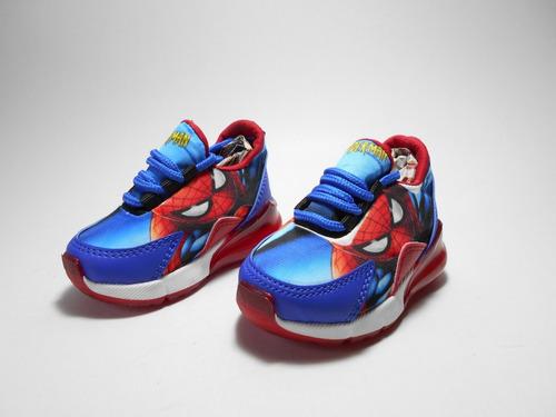 zapato deportivo niño tenis t 18 -32 spiderman