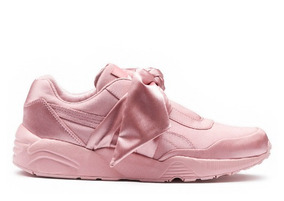 puma rihanna zapatillas mujer rosas