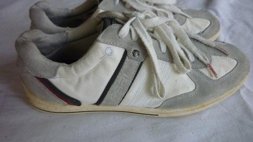 zapato deportivo rs21 de piel. n°38