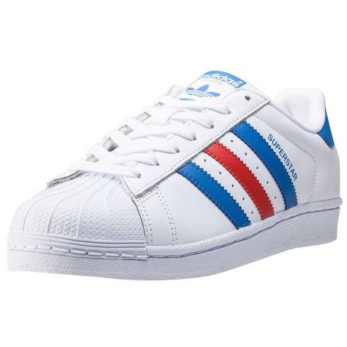 zapato deportivo super star blanco