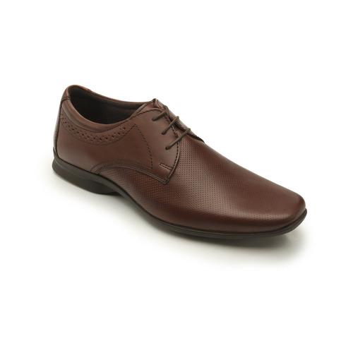 zapato derby flexi caballero 79501 café