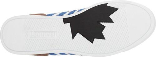 zapato dsquared2 new runner sneaker 100% original