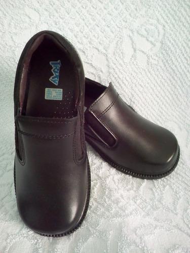 zapato escolar calzado infantil de piel niño trixy