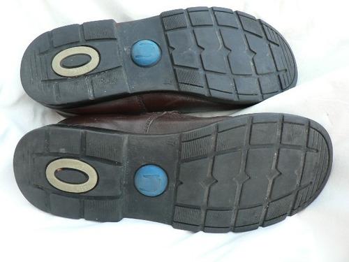 zapato escolar colegial  marcel cuero excelente estado nº 37