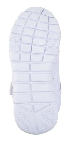 zapato escolar coqueta para niño 155216-b blanco [cta684]