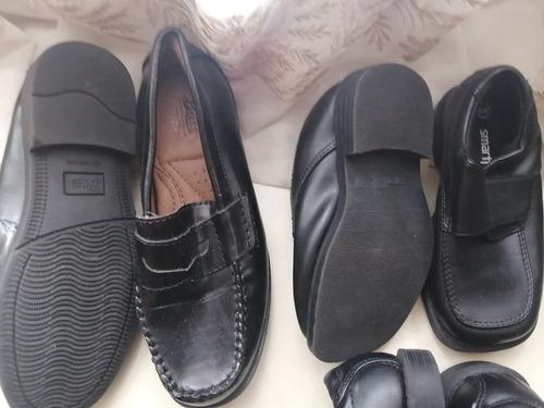 zapato escolar niño marca smart fit y bass