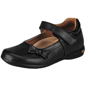 27e54099 Zapato Escolar Niña Mini Burbujas 740 Ng 16-21 Envio Gratis