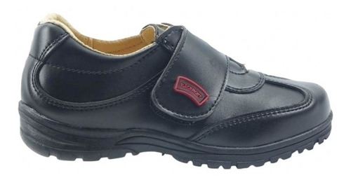 zapato escolar piel negro marca blackmont
