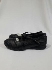 Zapatos SKECHERS Azul marino Zapatos de mujer Skechers cuero