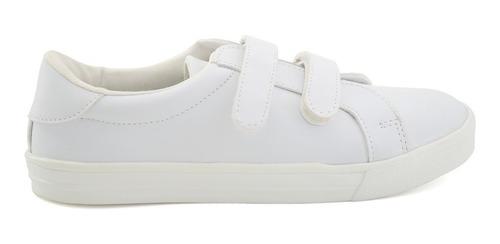 zapato escolar tropicana para niña 93117 blanco [tro592]