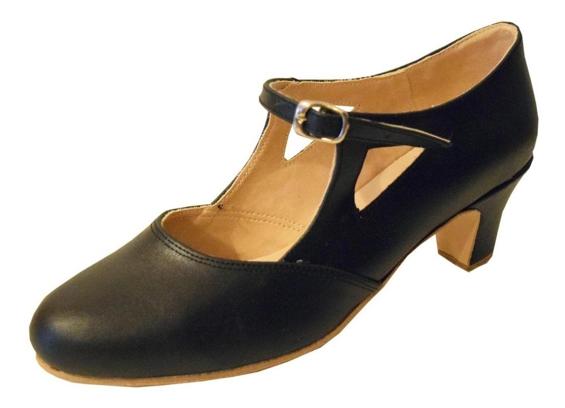 4e0d4de2 Zapato Español Estudio Cuero Eco - Folklore - Danza - $ 1.099,00 en ...