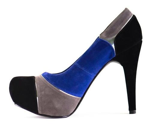 zapato fiesta mujer plataforma elegante, tallas 36-37-38