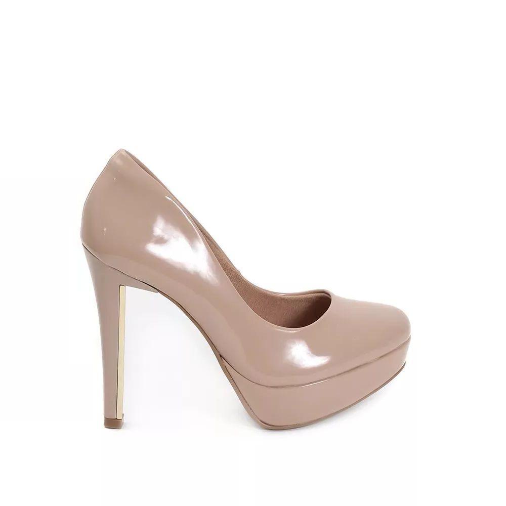 ea4f65f9 Zapato Fiesta Nude Charol Vía Marte - $ 2.475,00 en Mercado Libre