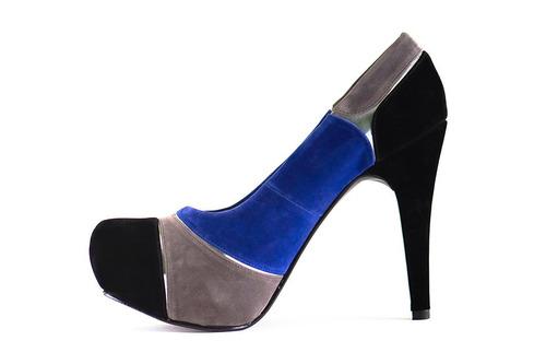 zapato fiesta, vestir plataforma elegante, calzado dama