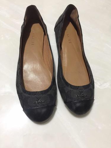 zapato flats coach