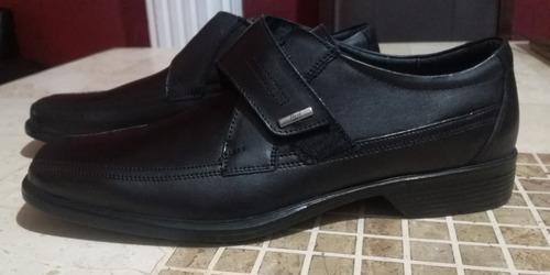 zapato flexi caballero piel vestir 30 mex comodos formal