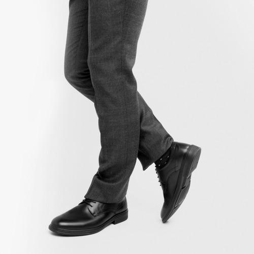 zapato flexi hombre 91407 negro vestir