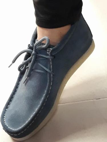 zapato forche original en tubular,gamuza mas kit de lavado
