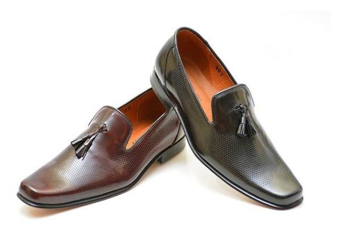 zapato formal elegante para hombre 100% cuero ref 901