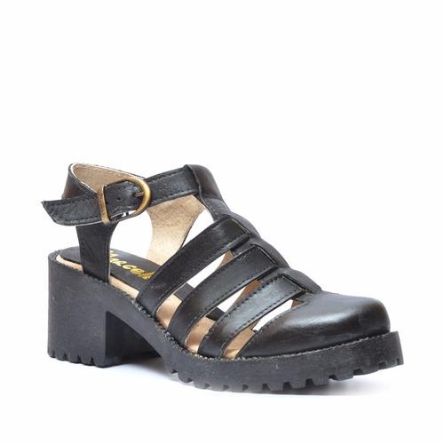 zapato franciscana dama en cuero marcel calzados (cod.15145)