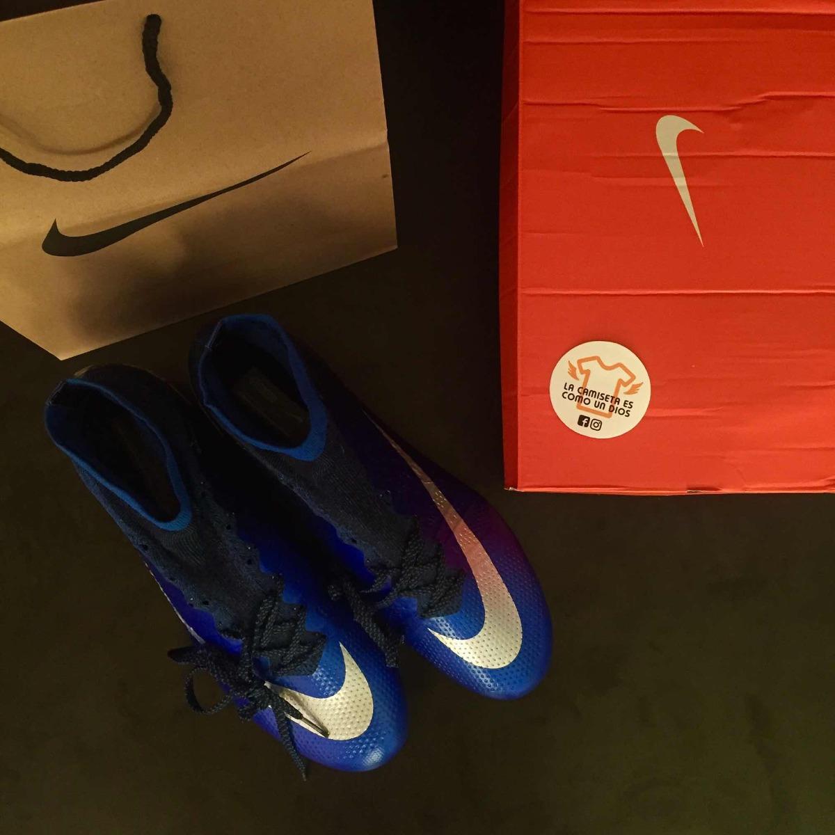 Zapato Fútbol - Nike Mercurial Superfly Cr7 Deep Blue -   54.990 en ... f854a06f232ee