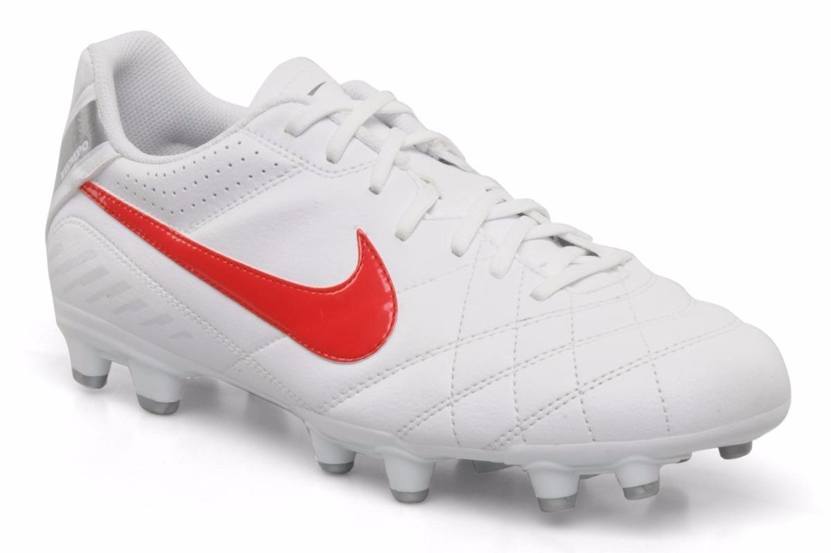 bbe6cb0f6e6e9 zapato futbol tachones nike tiempo natural jr - zapatera. Cargando zoom.