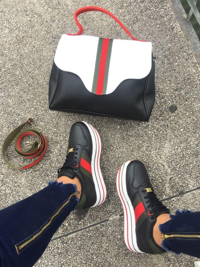 044be81a1 Zapato Gucci Dama + Bolso Combo - $ 94.000 en Mercado Libre