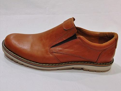 zapato hombre 100% cuero base suela foot notes 150 sale