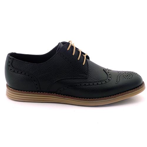 zapato hombre acordonado cuero briganti - hcac00823
