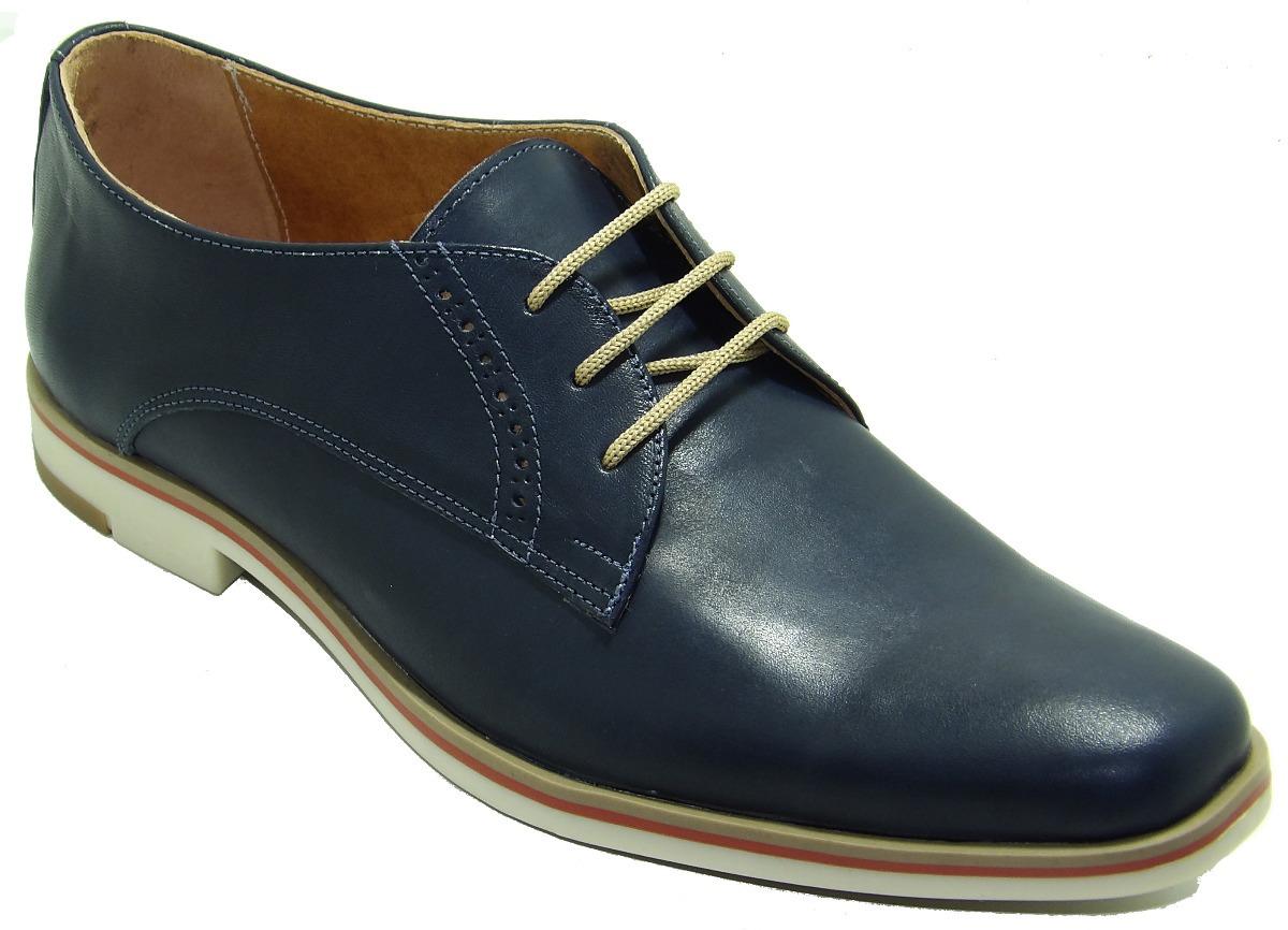 b4d1ddf0 Zapato Hombre Azul Base Tr Tricolor Cuero - Art 550 - $ 1.430,00 en ...