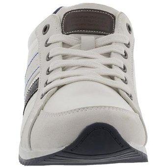 342bdc5d zapato casual deportivo para hombre breaker - blanco y azul · zapato hombre  breaker