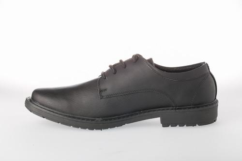 zapato hombre casual formal cuero - negro