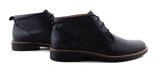 zapato hombre cuero borcego botita briganti goma hcbo00902