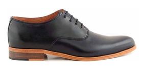 Zapato Cuero Hombre Ingles Acordonado Briganti Hcac00918 SpMVGzqU