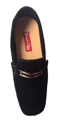 zapato hombre  gamuzado negro, vino tinto, rojo cuero 100%