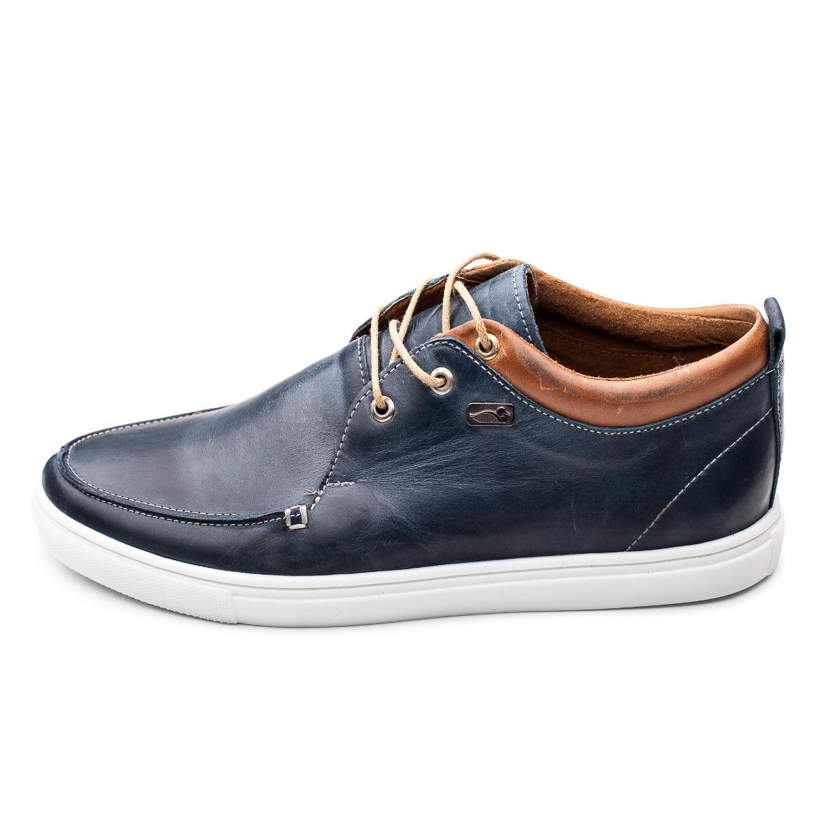 Zapato Zapatilla Cuero Hombre Pato Pampa -patagonia- - $ 2.999,00 en ...