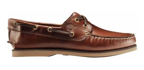 zapato hombre timberland náutico clasico