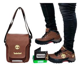 Zapato Hombre,combo+bolso+bota+billetera,envío Gratis