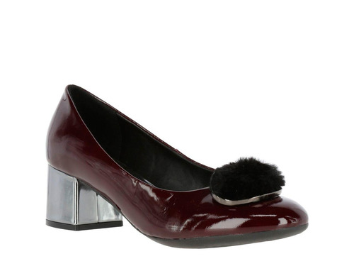 zapato hush puppies leather final party burdeo