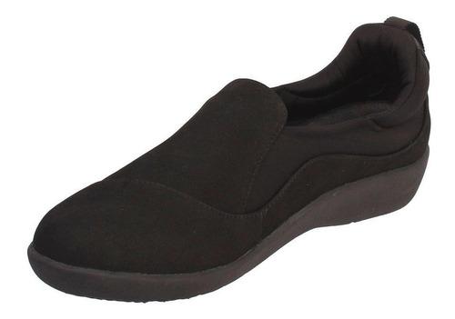 zapato hush puppies nubuck awan negro