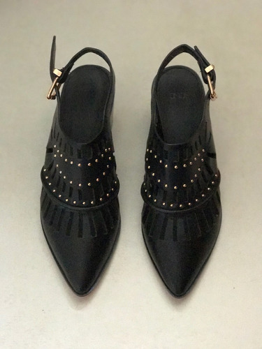 zapato importado cuero asos london n 35.5 impecable sin uso.