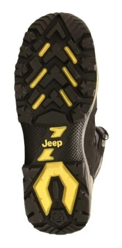 zapato jeep overland nobuck negro hombre