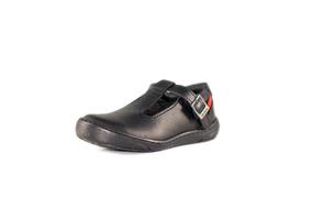 84340ebba65 Zapato Kicker Colegial Casual Negro De Niña, Talla 22 Al 28