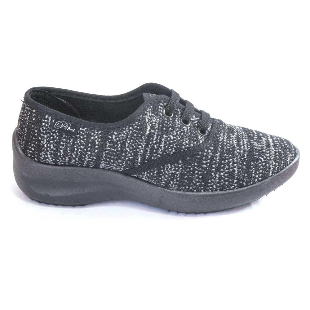 Zapato Liviano Cordón Plantilla Anatomica Negro Y Bordó Pira - $ 549 ...