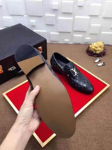 zapato louis vuitton  casual cuero top- (bajo pedido)