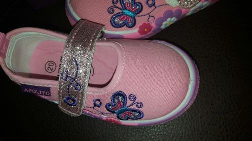 zapato marca apolito en talla 20  nuevo