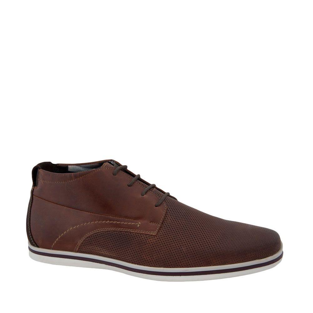 Cb286 Hombre Flexi Zapato Bota Zoom Color Media Piel De Nogal Cargando  wFq11A87x b4ae4b06aa96